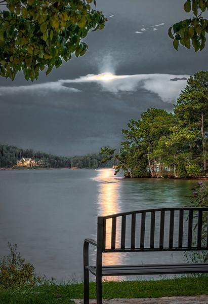 Full Moon Over Keowee (1)