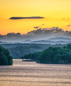 Lake Keowee Sunset @ Gap Hill (4)