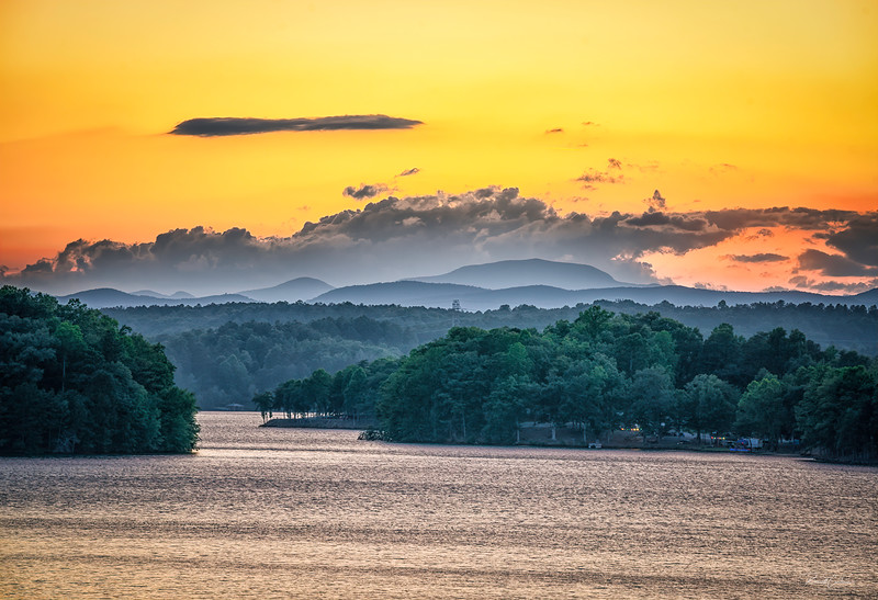 Lake Keowee From Gap Hill (12)