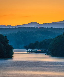 Lake Keowee Sunset @ Gap Hill (5)