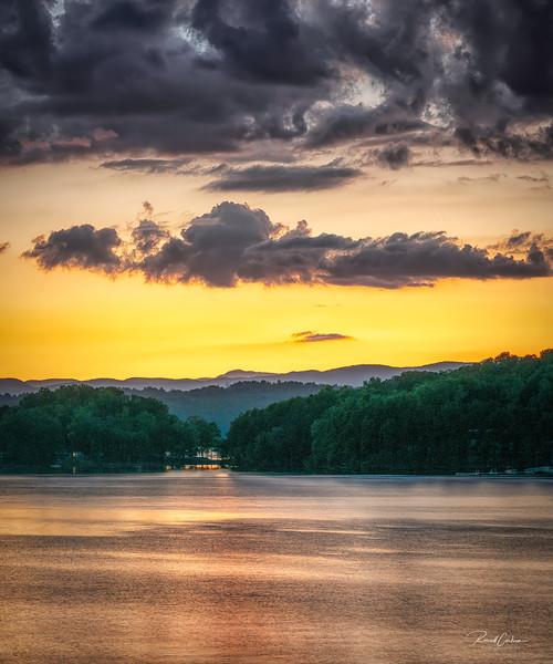 Lake Keowee Sunset @ Gap Hill (3)
