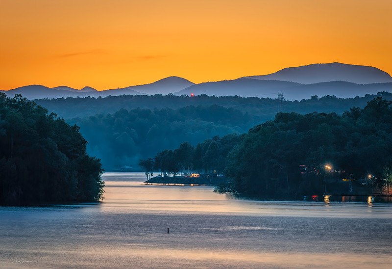Lake Keowee From Gap Hill (10)