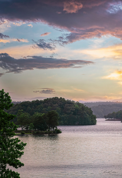 Lake Keowee After Sundown (1)