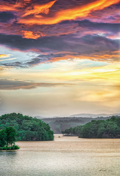 Lake Keowee Sunset (5)