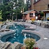 Hot tub pool at Hidden Ridge Resort