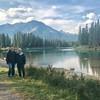 Jim & Larry Bow River Banff