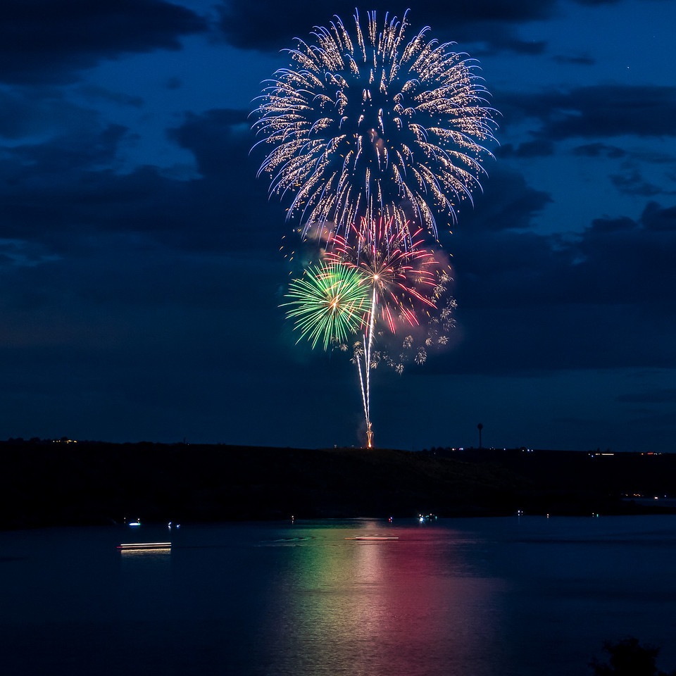 Happy Independence Day!  Fireworks over Lake Meredith, Texas. #4thofjuly #fireworks #sky #longexposure #independenceday #texas #canon #patriotism #colors