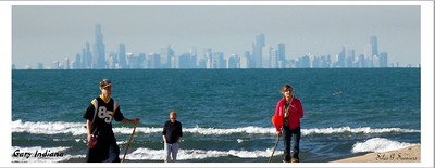 No Equal Opportunity To Fish In Lake Michigan From The Shore In Gary Indiana In 2016