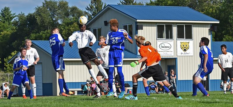 Lake Mills HS Boys Soccer - JV