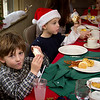 Breakfast with Santa at the Lake Naomi Clubhouse in Pocono Pines. © Mark Luethi Photography