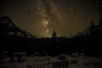 Lake O'Hara, night photography