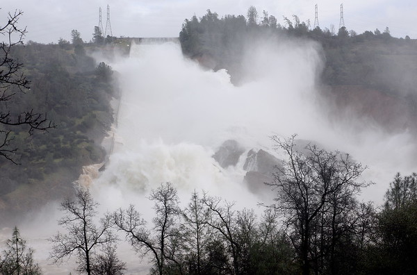 Lake Oroville and Spillway Updates Friday