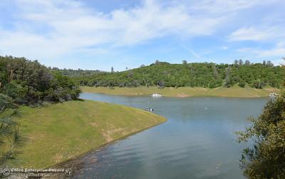 Lake Oroville on Saturday, March 26, 2016, at Lime Saddle in Paradise, California. (Dan Reidel -- Enterprise-Record)