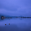 Lake Pichola at the break of dawn-  Soaked in rain, mist and clouds<br /> <br /> Exposed for 13 secs @55 mm ISO 50, Aperture f/8.0