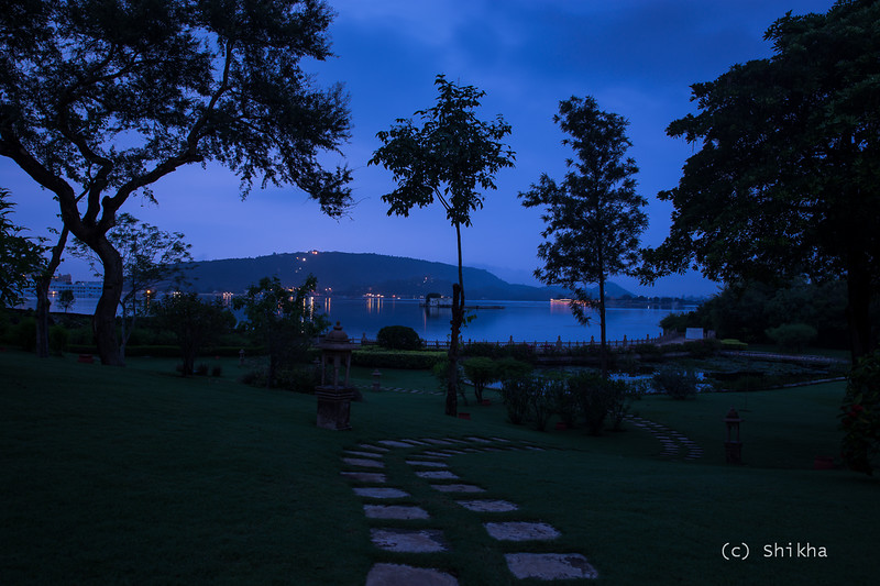 The city was still asleep. These steps led me to Lake Pichola and its breathtaking beauty in dawn.<br /> <br /> Exposed for 20 secs @25 mm ISO 50, Aperture f/7.1