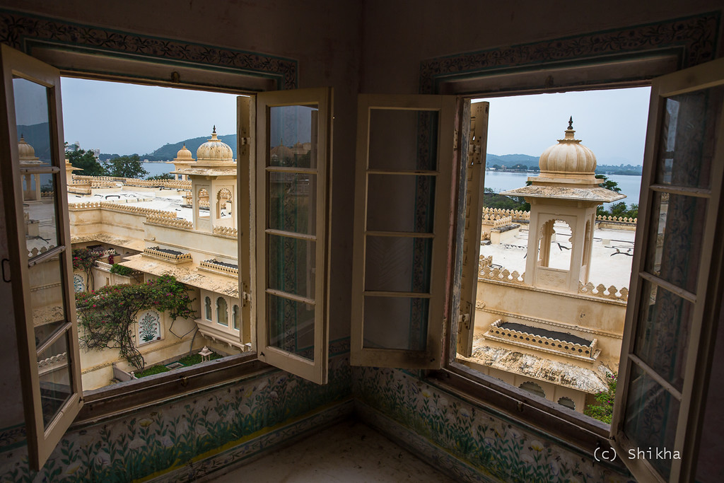 View of Lake Pichola from Bada Mahal