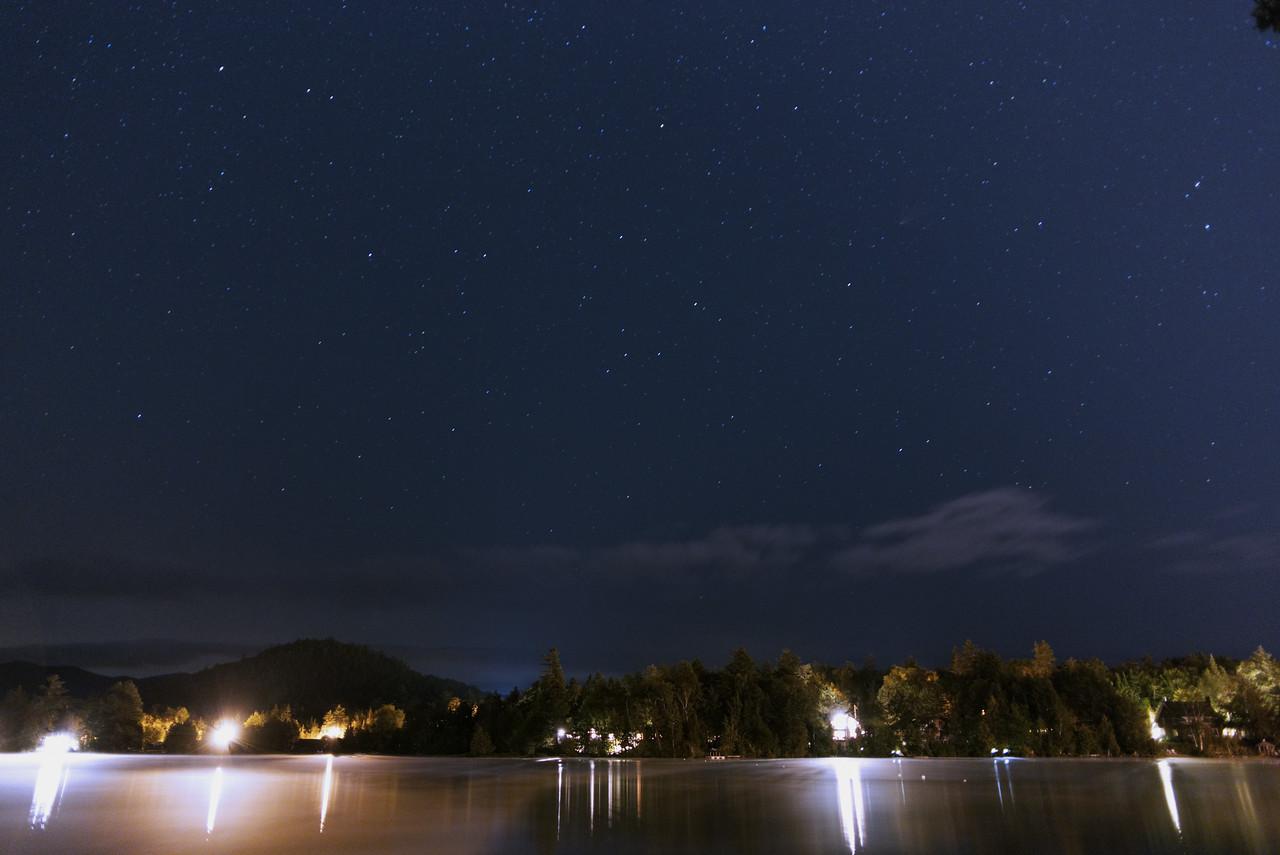Mirror Lake at Night