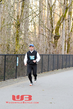 Sammamish Half 2018 2 miles in