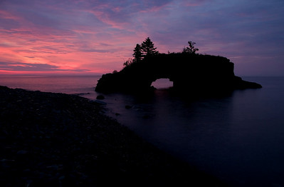 Sunrise at Hollow Rock