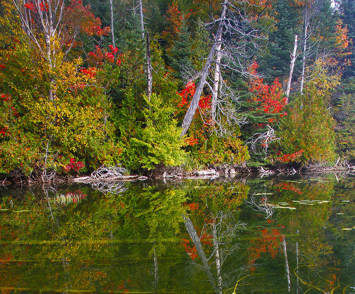 Red Rock Lake - Lake Superior Fall Tour - John Hewitt - September 2013