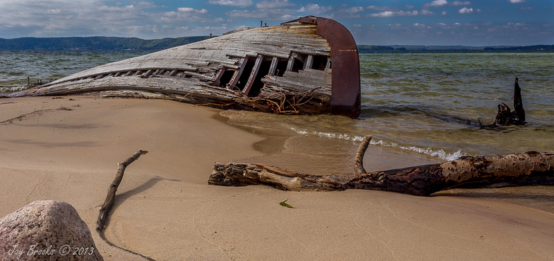 Shipwreck - Lake Superior Fall Tour - Jay Brooks - September 2013