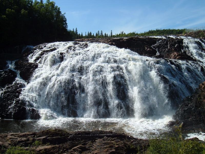 Falls at Wawa, ON