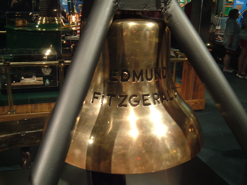 Bell from the Edmond Fitzgerald
