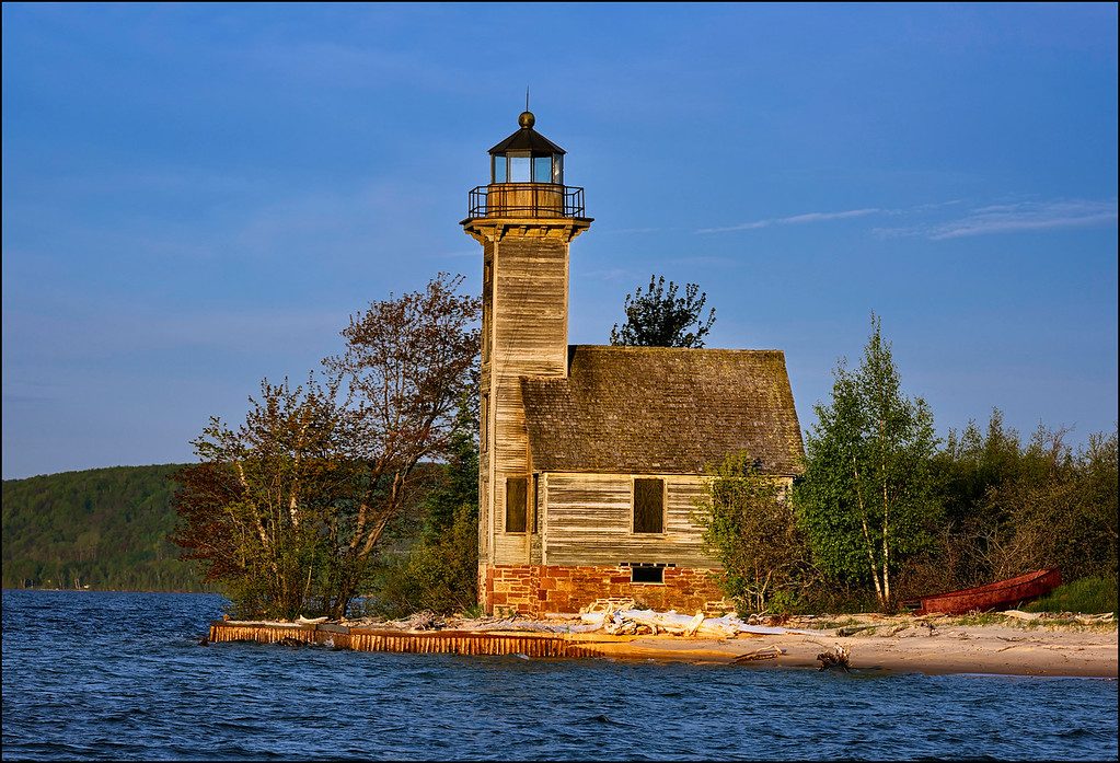 Original Wood East Lighthouse