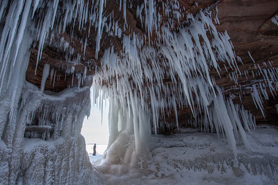 "APOSTLE ISLANDS 0302  ""Ice Cave Wonderland"""