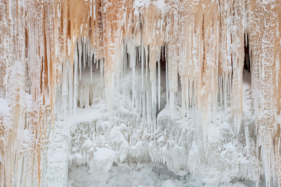"APOSTLE ISLANDS 0349  ""Wall of Ice"""