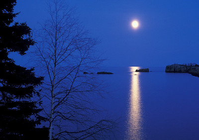 Lake Superior Moonrise 006
