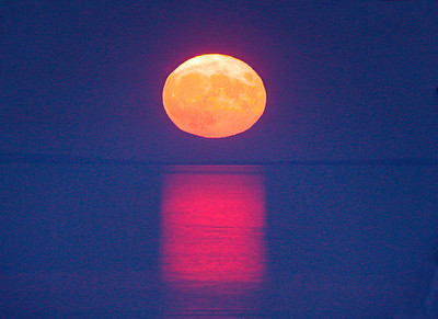 Lake Superior Moonrise 003