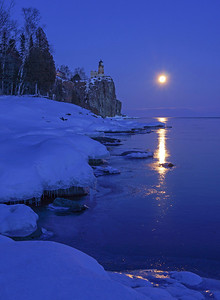 Valantines Day Moonrise 008