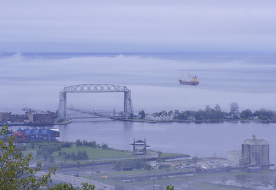Fog In Duluth Harbor 4_PSundberg