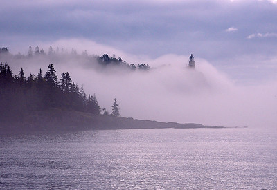 Split Rock Lighthouse in Fog 3_PaulS