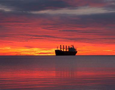Duluth Harbor Sunrise 2_PSundberg