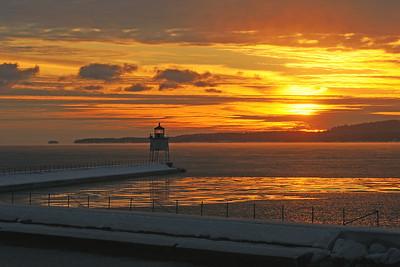 Agate Bay Sunset 003