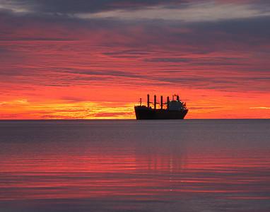 Duluth Harbor Sunrise 12_PSundberg