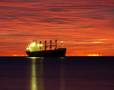 Duluth Harbor Sunrise 13_PSundberg
