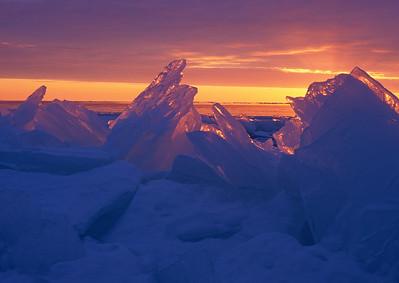 Ice Shards Sunrise 2_PaulS