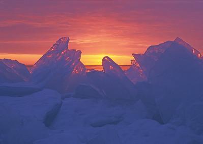 Ice Shards Sunrise 6_PaulS