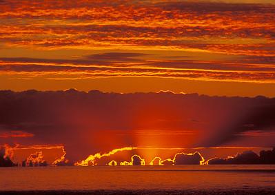 Lake Superior Sunrise in Clouds 2_PaulS