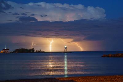 Storm over Grand Marais 2