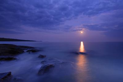 """SUPERIOR FALL 5771  """"September Moonrise"""""""