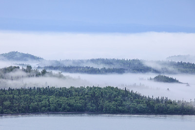 "SUPERIOR SUMMER 4549  ""Foggy summer day in the Susie Islands"""