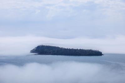 "SUPERIOR SUMMER 3695  ""Summer Fog, Pete's Island"""