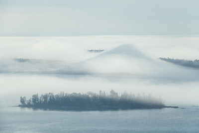 """Early Summer Fog, Susie Islands"""