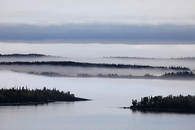 "SUPERIOR SUMMER 9584  ""August Fog, Susie Islands"""