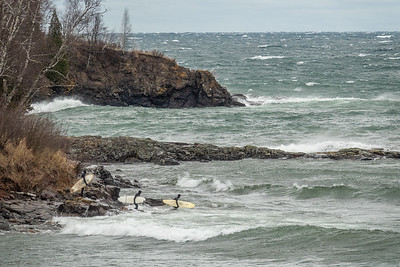 """Lake Superior Surfers"""