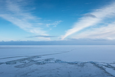 """""""Ice as far as the eye can see..."""""""